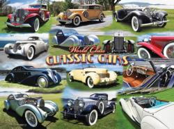 World Class Classic Cars Nostalgic / Retro Jigsaw Puzzle