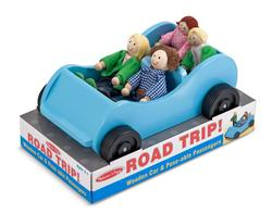 Road Trip! Car & Doll Set Pretend Play Toy