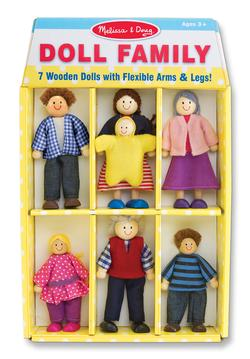 Doll Family Pretend Play Toy