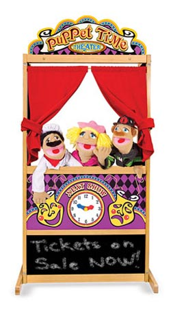 Deluxe Puppet Theater Toy