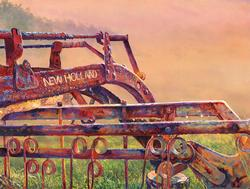New Holland Sunrise Countryside Jigsaw Puzzle