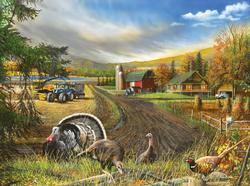 Country Living Farm Jigsaw Puzzle