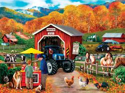 Enterprise Lane Farm Jigsaw Puzzle