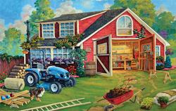 The Tool Shed Farm Jigsaw Puzzle