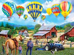 Balloon Adventure Farm Jigsaw Puzzle