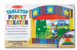 Tabletop Puppet Theater Pretend Play