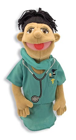 Surgeon Puppet Toy