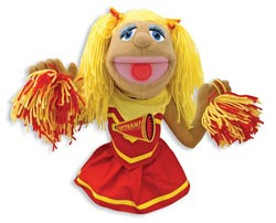 Cheerleader Puppet Toy