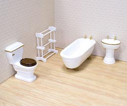 Bathroom Furniture Pretend Play
