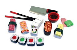 Sushi Slicing Play Set Food and Drink Pretend Play