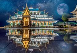 Wat Pa Phu Kon, Thailand / Thailande Asia Jigsaw Puzzle