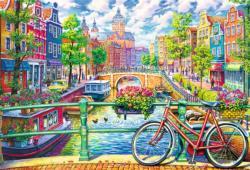 Amsterdam Canal Amsterdam Jigsaw Puzzle