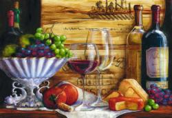 In The Vineyard Food and Drink Jigsaw Puzzle