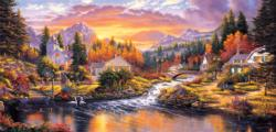 Morning Sunlight Sunrise / Sunset Jigsaw Puzzle