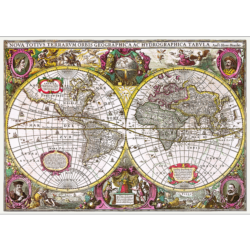 A New Land And Water Map Of The Entire Earth, 1630 Maps / Geography 2000 and above