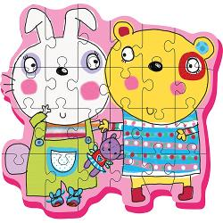 Best Friends (Giant Soft Shapes ) Bears Chunky Puzzle
