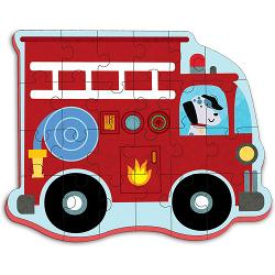 Fire Truck (Giant Soft Shapes) Vehicles Children's Puzzles