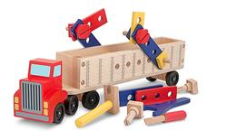 Big Rig Building Truck Pretend Play Dexterity Toy