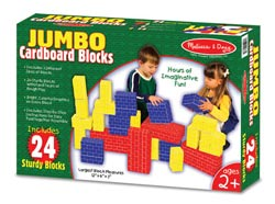 Jumbo Cardboard Blocks Toy