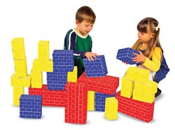 Deluxe Jumbo Cardboard Blocks Toy
