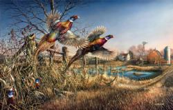 Homestead Birds Jigsaw Puzzle