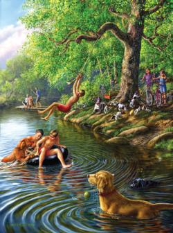 Places Remembered Summer Lakes / Rivers / Streams Jigsaw Puzzle