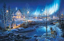 All is Bright Snow Jigsaw Puzzle