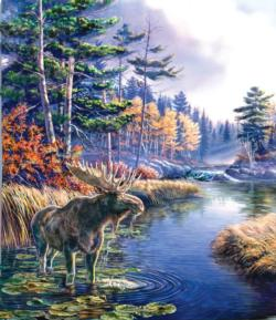 Legacy Moose Lakes / Rivers / Streams Jigsaw Puzzle