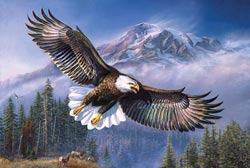 Eagle Anthem Eagles Jigsaw Puzzle