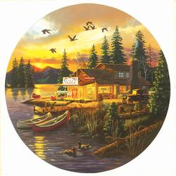 Rusty's Retreat Lakes / Rivers / Streams Jigsaw Puzzle