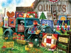 Quilts for Sale Crafts & Textile Arts Jigsaw Puzzle