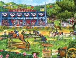 A Day at the Races Horses Jigsaw Puzzle