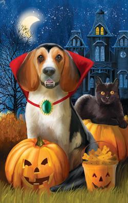 Count Dogula Halloween Jigsaw Puzzle
