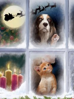 The Night before Christmas Christmas Jigsaw Puzzle