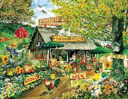 The Produce Stand Chickens & Roosters Large Piece