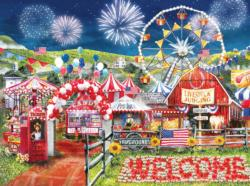 Made in the U.S.A. Fireworks Jigsaw Puzzle