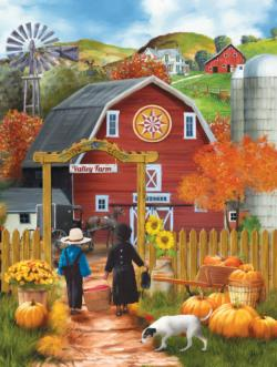 Valley Farm Thanksgiving Jigsaw Puzzle