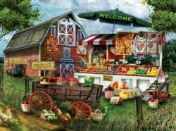 Fresh Country Produce Food and Drink Jigsaw Puzzle