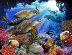 Underwater Fantasy Under The Sea Jigsaw Puzzle