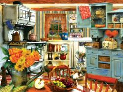 Grandma's Country Kitchen Domestic Scene Jigsaw Puzzle