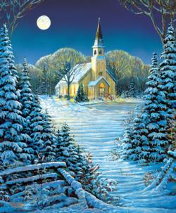 The Heart of the Season Churches Jigsaw Puzzle