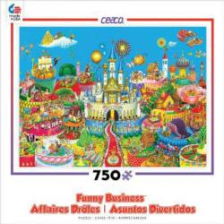 Fairytale World (Funny Business) Fantasy Jigsaw Puzzle