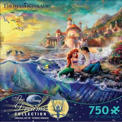 The Little Mermaid (Disney Dreams) Mermaids Jigsaw Puzzle