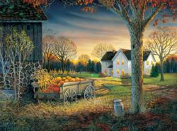 Pumpkin Harvest Fall Jigsaw Puzzle