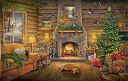 Holiday Rest - Scratch and Dent Christmas Jigsaw Puzzle