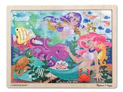 Mermaid Fantasea Mermaids Tray Puzzle
