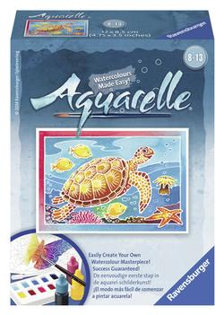 Turtle (Aquarelle Mini) Reptiles and Amphibians Arts and Crafts
