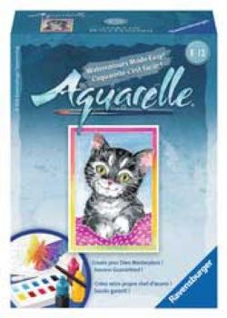 Cat (Aquarelle Mini) Cats Miniature Puzzle