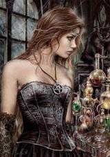 Poison Gothic Jigsaw Puzzle