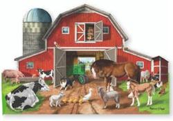 Busy Barn Farm Jigsaw Puzzle